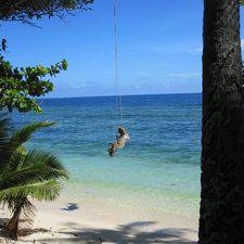 Alone on your own Fiji Island