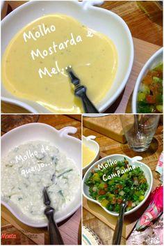 Como Preparar 3 molhos para fondue deliciosos...