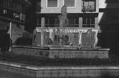 Fuente que ocupaba gran parte de la Plaza de Las Flores