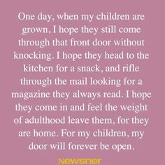 For my daughter, step children, and all of my grandchildren.