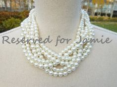 This listing is reserved for Jamie by GrevinaDesigns on Etsy, $40.00