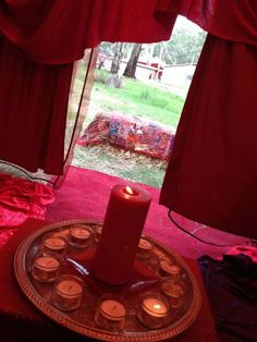 Envisioning a Red Tent retreat for myself and other women who just need time, space, and acceptance.