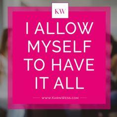 Erlaubst du dir wirklich ALLES haben, schaffen, erreichen zu können? #truth #quote #coaching #femaleentrepreneur #womenempoweringwomen #ladyboss #goalgett #businesstips #purposedriven #onlinebusiness Success, Dream Big, Planer, Keep Calm, Dreaming Of You, Coaching, Motivation Success, Achieving Goals, Self Love