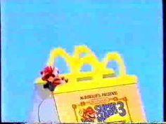 Super Mario Bros 3 - McDonalds Toys ad