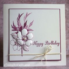 Pinterest Birthday Cards to Make | ... Birthday card for Jen but I had to be inspired by a cards on Pinterest