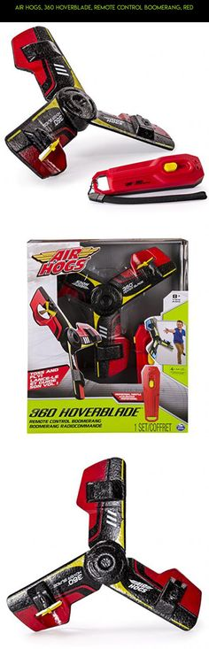 Air Hogs 360 Hoverblade Remote Control Boomerang Red Drone Products
