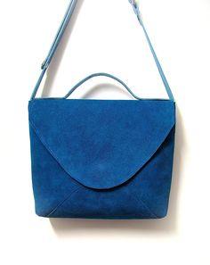 leather bag by birgitte aalten