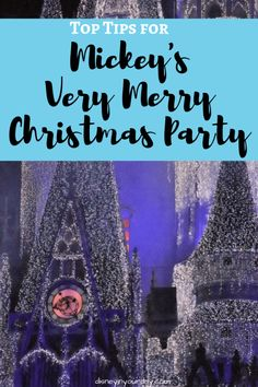 If you're visiting Disney World during the holiday season, check out these Tips for Mickey's Very Merry Christmas Party so you can make the most of your time! Disney Christmas Party, Disney Christmas Decorations, Disney Christmas Shirts, Christmas Vacation, Disney Holidays, Christmas Games, Family Christmas, Disney World Planning, Disney World Vacation