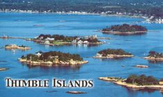 Thimble Island Cruise from Branford, CT. Perfect for a fun day or night out to sea. And they serve beer and wine too!