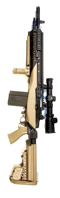 Vltor MI-S Stock system for the M14/M1A. History proves the M1A is one of the best and most accurate rifles around.