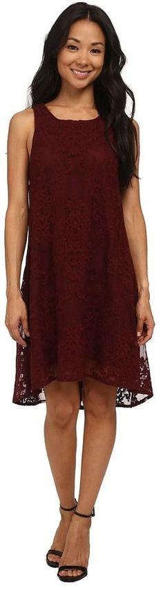 BB Dakota Cadence Embroidered Lace Dress