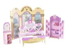 Fashion Doll: Barbie And The 12 Dancing Princesses Princess Vanity Playset * Click image for more details.