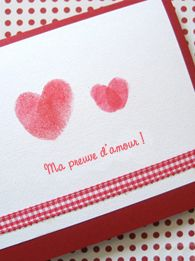Prints - heart shape