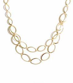 Necklaces Necklaces Necklaces! Gold Multi-Chain Necklace  Price: $35.00