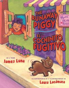 The runaway piggy. Picture book.