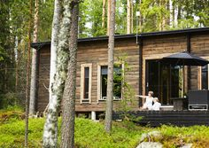 Beach House, Plants, Modern, Summer, Cottages, Studios, Inspiration, Prefab Houses, Country Houses