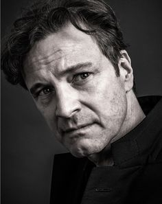 Another great portrait of Colin Firth by Andy Gotts MBE