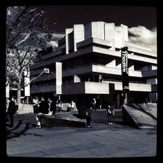 London's National Theatre. Royal National Theatre, Theatres, A3, Places To Go, Journey, English, Spaces, London, Heart
