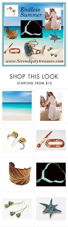 """Endless Summer"" by cindydcooley ❤ liked on Polyvore featuring vintage"