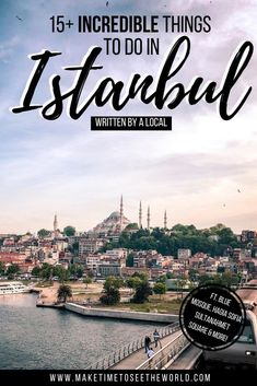 Turkey's capital is one you'll return to again & again, but for your 1st trip you'll want to know the BEST Things to do in Istanbul (inc. where to eat & stay!)** Things to see in Istanbul | Istanbul Things to do | What to do in Istanbul | Istanbul Travel Tips | Places to visit in Istanbul | What to see in Istanbul | Istanbul Attractions | Istanbul Turkey Travel | Where to stay in Istanbul | Istanbul Bucket List | Istanbul Blue Mosque | Istanbul Hagia Sophia | First time Istanbul Travel… European Travel Tips, Europe Travel Guide, Travel Guides, Istanbul Turkey, Cappadocia Turkey, Blue Mosque Istanbul, Places To Travel, Travel Destinations, Istanbul Travel