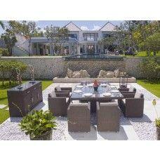 #SkylinedesignsGardenfurniture #Skylinedesignsstockist #LuxuryDiningset #Gardendiningset