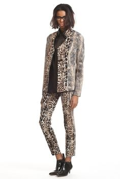 Tracy Reese Pre-Fall 2013 -- print-on-print suit