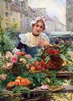 Louis Marie de Schryver! Louis Marie de Schyrver (Paris, França, 12 de outubro de 1862 – Paris, França, 6 de dezembro de 1942) Ainda muito jovem encontrou o estilo de pintura que lhe garantir…