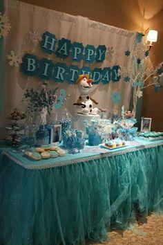 Frozen (Disney) Birthday Party Ideas | Photo 8 of 10