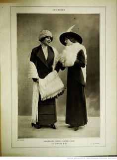 Modes (Paris) 1912  Tailleurs pour L'apres-midi par Linker & co
