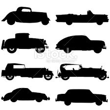Image result for classic american car printable silhouette
