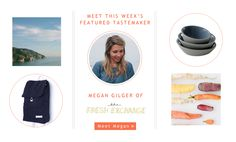 @Megan Ward Gilger is this week's BRIKA Tastemaker