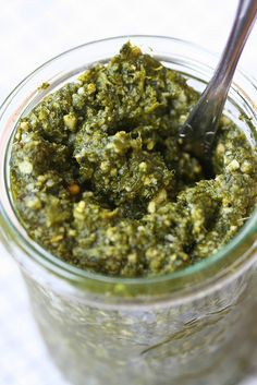Nettle Pesto - I will give this an honest try. Nettles are abundant in our area.