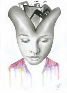 Artwork mind in technology