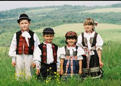 Soblahovské kroje Traditional Folk Costume in Soblahov, Slovakia Children Baroque Fashion, Vintage Fashion, Folk Costume, Costumes, Heart Of Europe, Central Europe, Bratislava, My Heritage, Czech Republic