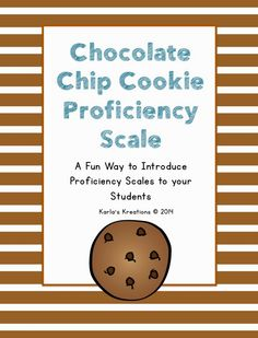 A fun way {with a FREEBIE} to introduce proficiency scales to students.