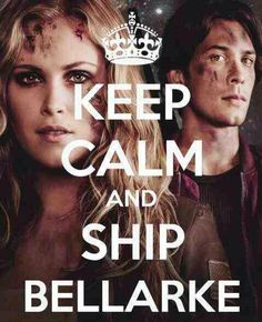 I can't keep calm because they're separated again! #The100 #Bellarke