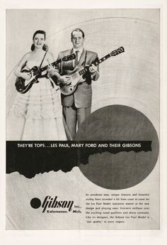 Vintage Gibson Ad
