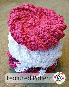 Free scrubbie crochet pattern.