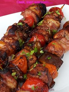 Beef Recipes, Cooking Recipes, Asian Beef, Bbq Rub, Gnocchi, Tandoori Chicken, Sausage, Bacon, Pork