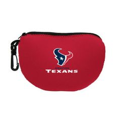 NFL Houston Texans Grab Bag-Electronics Cable Bag by Kolder. $7.20. Clutch your Grab and head out to the big game, or to the beach, or store or anywhere else that high fashion and unique style are appreciated.  This unique neoprene clutch bag is sure to be the talk of the town.  Available with your favorite team logo.  Officially licensed by the NFL. Save 60% Off!