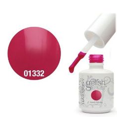 """Harmony Gelish UV Soak Off Gel Polish Gossip Girl - This color gel is conveniently designed by """"Gelish by Harmony"""" with a twist cap and applicator brush, apply like polishes, and cured under UV lamp. Color gels are meant to use on natural nails. These products are made to satisfy natural-nail wearers who long wish their color would last for more than two weeks"""