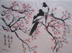 """Résultat de recherche d'images pour """"peinture sur porcelaine pommier du japon"""""""