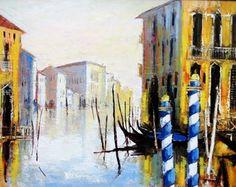 Venise vue sur le grand canal by Celestin Messaggio