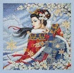 Geisha Cross Stitch Patterns