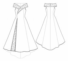 5530 Personalized Wedding Dress Pattern - Bridal Gown, Wedding Dress, PDF sewing pattern by TipTopFit on Etsy https://www.etsy.com/listing/106867812/5530-personalized-wedding-dress-pattern