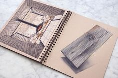 Architectural Buildings Concept Drawings. By Reid Schlegel.