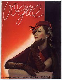 Love the logo ~ #vintage #covers Voque USA 1933 #magazine