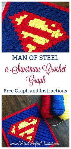 Superman Crochet