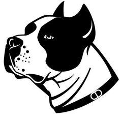 силуэт морды собаки вектор - Поиск в Google