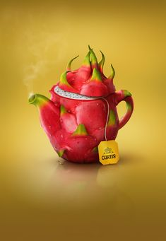Tasty teapots for Curtis by Catzwolf Group, via Behance